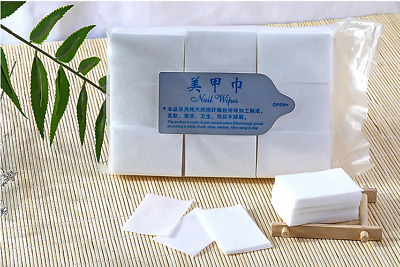 900Pcs Nail Art Tip Manicure Polish Remover Clean Wipes Cotton Lint Pad Paper SL