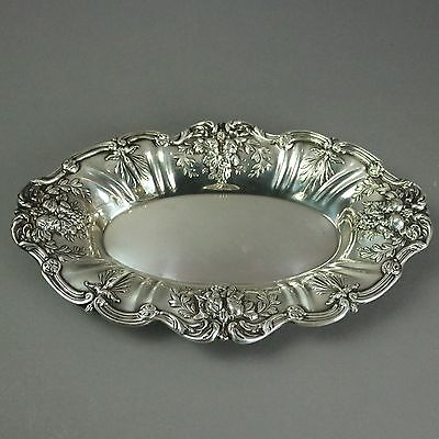 Antique Francis I Sterling Silver Bread Tray