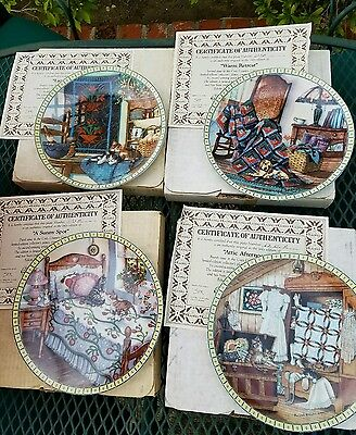 Cozy Country Corners Complete Plate Collection