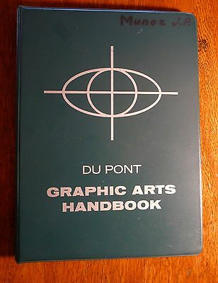 Du Pont Graphic Arts Handbook Vol I 1956 Technical Design Manual Ring Bound