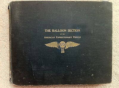 The Balloon Section American Expeditionary Forces 1919 WWI Rare, Ovitt, Bowers