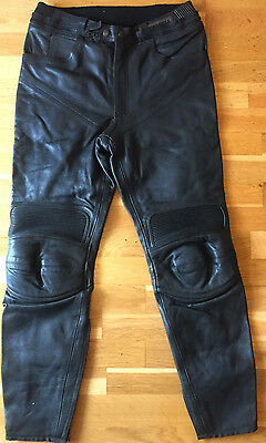 Lookwell Motorcycle Motorbike & Moped Leather Trouser Size UK30 / Euro50