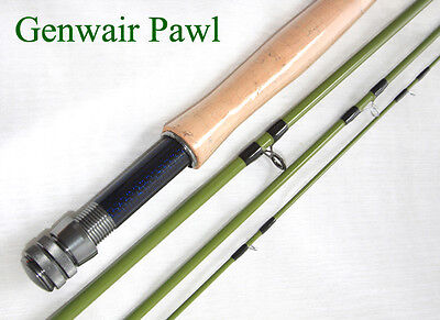 Genwair Pawl Fly Rod 4 pce Fly Rod With Bag Tube & Lifetime Guarantee