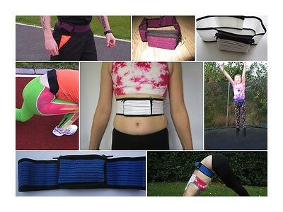 Breathable Running Stretch Diabetic Insulin Pump Belt Pouch