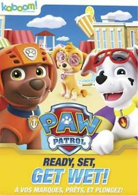 Paw Patrol Ready Set Get Wet Region 1 DVD New
