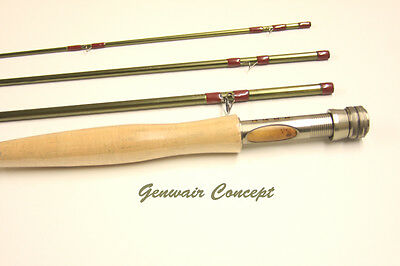 Genwair Concept Fly Rod 4 pce Fly Rod With Bag Tube & Lifetime Guarantee