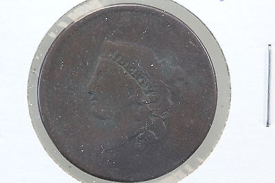 1834 Large Cent AG