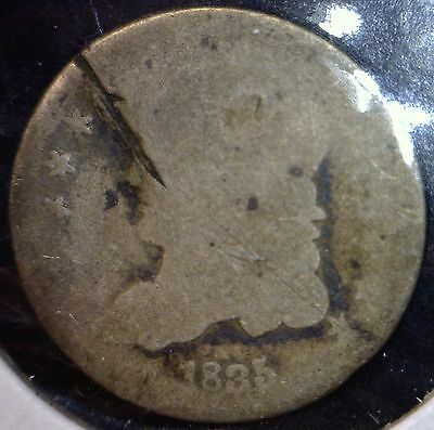 1835 Capped Bust HALF DIME Coin Estate LOT #2 of 100 Auctions  NO RESERVE