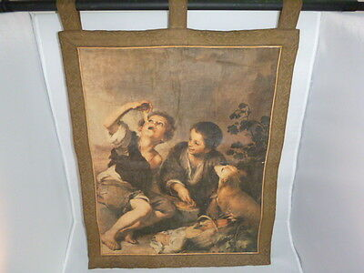 ART painting on hanging tapestry