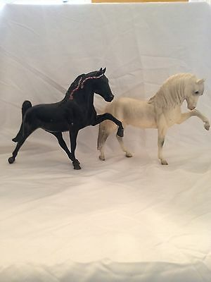 Vintage set of Gaited Breyer Horses, Midnight Sunset and Andalusion
