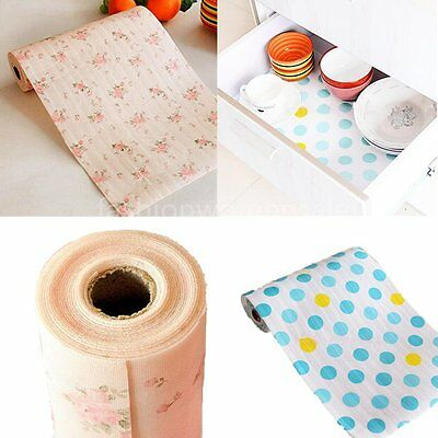 Kitchen Drawer Cabinet Mat Pad Shelf Contact Paper Refrigerator Liner Table Mats