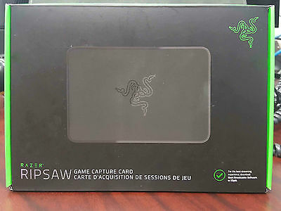 RAZER RIPSAW RZ20-01780100-R3U1 Game & Video Capture Card 1080p 60fps USB 3.0