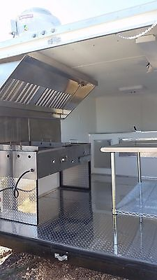 BRAND NEW 7x 12  Enclosed  Equipped Food Trailer, CHEAP ALL EQUIPMENT INCLUDED