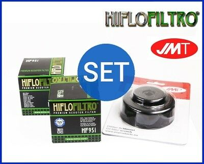 2x Hiflo Oil Filter HF951 + Oil filter cap wrench Honda SW-T 600 Silver Wing ABS