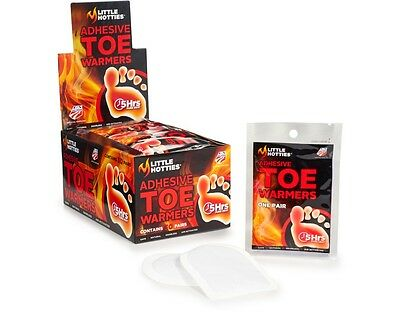 NEW Little Hotties 30 Pairs 60 Toe Warmers Feet Foot Sole Warmer Ski Snow Hand