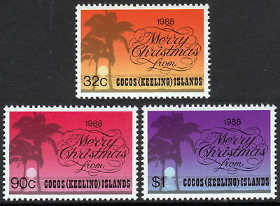 Cocos (Keeling) Islands 1988 Christmas  MNH