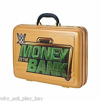Wwe money in the bank briefcase cash in official commemorative new in box
