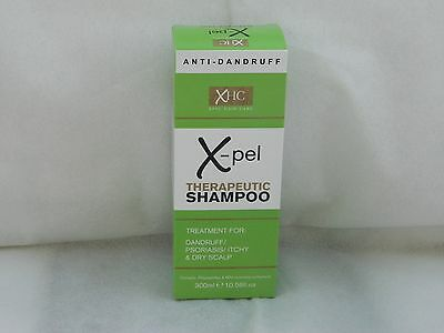 300ml  X-PEL THERAPEUTIC SHAMPOO TREATMENT FOR DANDRUFF/PSORIASIS & DRY SCALP