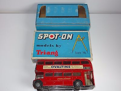 Triang Spot on LT ROUTEMASTER BUS - 145 with internal packing pieces