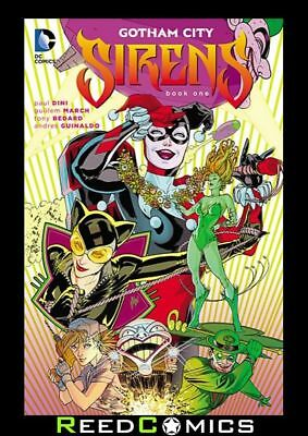 GOTHAM CITY SIRENS BOOK 1 GRAPHIC NOVEL New Paperback Collects Issues #1-13