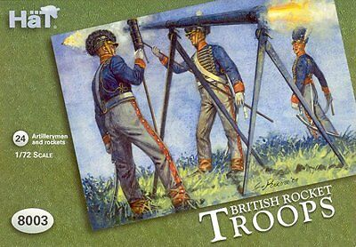 HaT 8003 British Rocket Troops 1:72 *NEW*