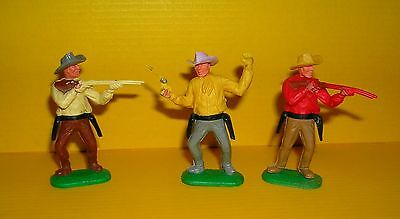 Timpo 3x Cowboy G1 Wildwest Western Figur Gangster Toys (1)