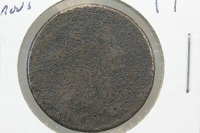 1802 Large Cent Fr Porous surface
