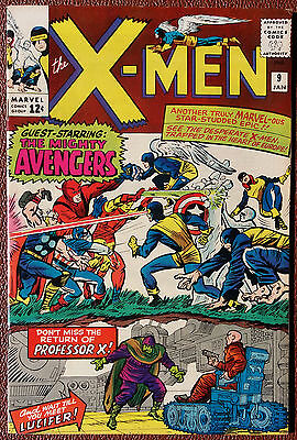 Uncanny X-Men #9 Cover A (1963 Series) , 1st Print , 1st Lucifer  , VERY FINE +