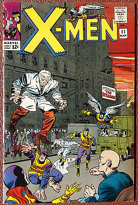 Uncanny X-Men #11 Cover A (1963 Series) , 1st Print , 1st Stranger , VERY FINE +