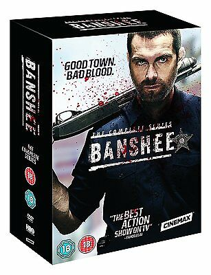 BANSHEE Series 1-4 SEALED/NEW Complete Season dvd Collection 5051892202404   2 3