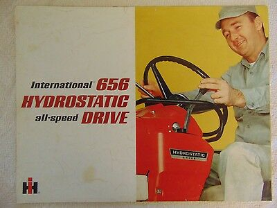 Vintage 1970's, International 656 Tractor, Sales Brochure
