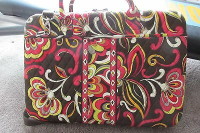 Vera Bradley Messenger Bag Puccini Pattern Nwot Carrying Shoulder Strap Laptop