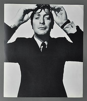 David Bailey Original 1965 Box of Pin-ups B&W Halftone Photo Print Michael Caine
