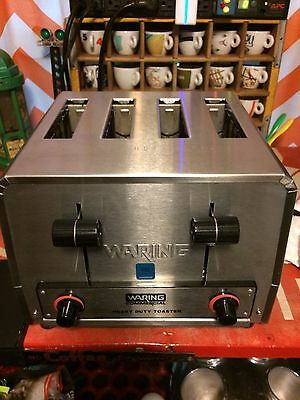 Waring WCT800 Commercial Heavy Duty 4 Slot Toaster