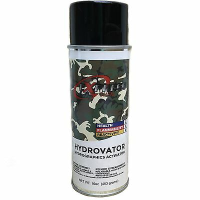 Hydrographics Activator HYDROVATOR Hydro DIP Dipping Spray  Water Transfer 16oz