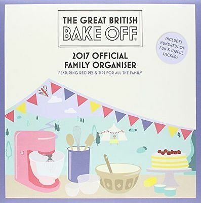 The Great British Bake Off Family Organiser 2017 Sealed