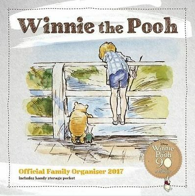 Winnie The Pooh Family Organiser 2017  Sealed