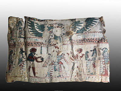 EGYPTIAN CARTONNAGE   Ptolemaic Period, 305 – 30 BCE