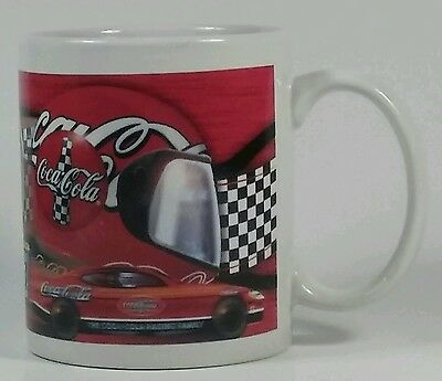 Coca-Cola Coke NASCAR Coffee Mug 11.5oz Cup 'Driving Your Thirst For Racin'