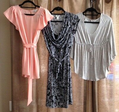 Lot of 3 Spring/Summer Maternity Clothes