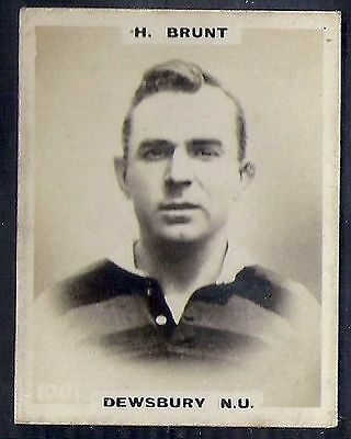 Pinnace Football-Pinnace Back-#1001- Rugby - Dewsbury N.u. - H. Brunt
