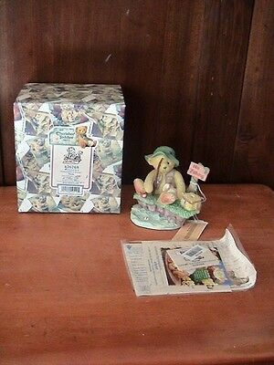 Cherished Teddies ~ Patience is a Fisherman's Virtue ~ Norm ~ #476765 ~ 1998