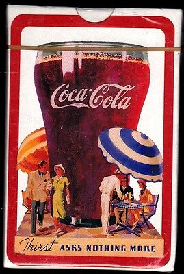 Coca-Cola Deck Playing Cards-1992  Factory Sealed