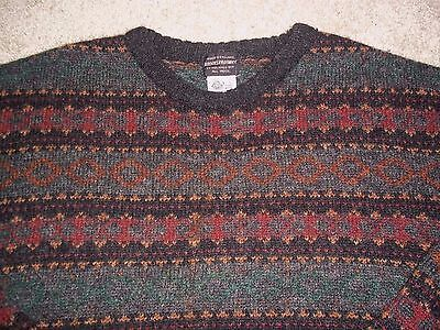 Brooks Brothers VTG Men's Sz Large 100% Wool Sweater VTG made in England