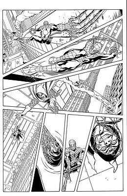 THE AVENGING SPIDER-MAN #22, pg. 16 - Battles Hobgoblin. Lopez & Owens art!