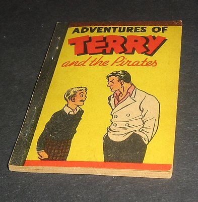 Vintage Mini-Comic,Whitman,Penny,Better Little Books,Terry and the Pirates,1938