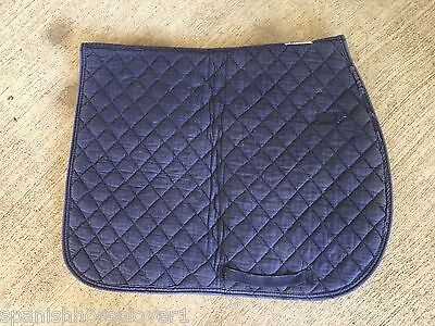 3 X Quilted Full Size Saddle Pads for Daily Work Use