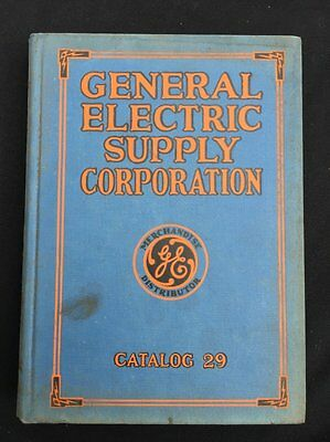 General Electric Supply Corporation Catalog 29