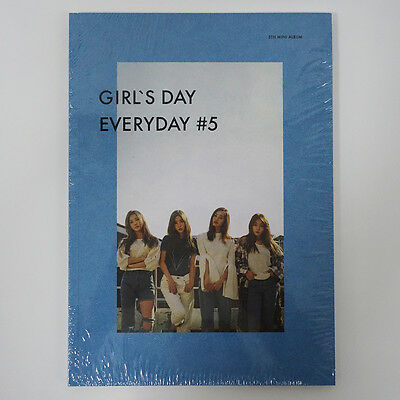 GIRLS DAY - GIRL'S DAY EVERYDAY #5 (5th Mini Album) CD+Photocard+Poster