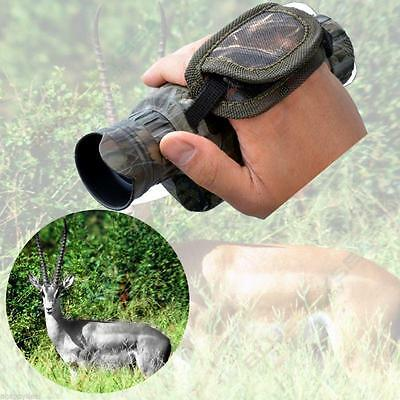 5X40 Infrared Dark Night Vision IR Monocular Binoculars Telescopes Scope Hunting